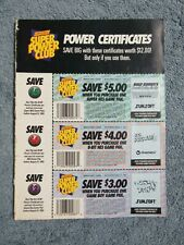 Issue 47 NP NINTENDO POWER w/ Power Cards SUPER SMASH TV, WINGS 2  bx