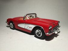 1959 CORVETTE STINGRAY Red scale 1:24 Chevrolet model car toy car diecast car