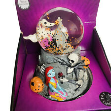 Nightmare Before Christmas Light Up musical waterglobe ghost This Is Halloween