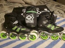 Atom Pro Fitness 4x110 Outdoor Inline Skate Package Size 10