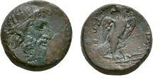 Rare Ancient Greece 246-225 BC MACEDON AMPHIPOLIS ZEUS EAGLE