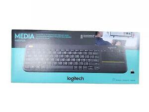 Logitech K400 Plus keyboard RF Wireless - Black