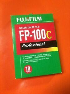 Fujifilm FP-100C Instant Color Polaroid Film Expired 2011 10 Count