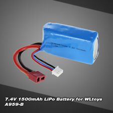 7.4V 1500mAh Rechargeable RC Buggy Car Toy Lipo Battery for WLtoys A959-B/A979-B