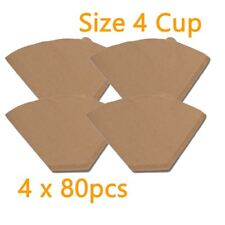 4k Generic Size 04 Filter Papers, Brown, 80 pcs  4 Boxes