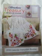 New ListingHerrschners Treasury of Crocheted Afghans 2018 Calendar Instruction Booklet.