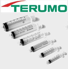 50 pcs 1ml LUER SLIP TERUMO SYRINGES HYPODERMIC DISPOSABLE STERILISED no needle