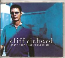 CLIFF RICHARD Can't Keep This Feeling In 3 track DUTCH CD SINGLE