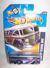 Hot Wheels 2012 HW CITY WORKS Surfin' School Bus 6/10 #136