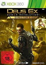 XBOX 360 gioco-Deus Ex Human Revolution (Director cut) (con imballo originale) (usk18) (PAL)