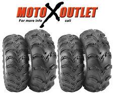 Yamaha Kodiak 400 Atv Tires ITP Mudlite set of 4 Mud Lite 25x8x12 25x10x12