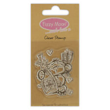 FIZZY MOON CLEAR STAMPS GREAT FOR CRAFTS - CHAMPAGNE