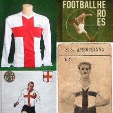 MAGLIA CALCIO AMBROSIANA INTER 1928 SHIRT FOOTBALL JERSEY TRIKOT VINTAGE STORICA