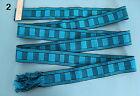 Vtg. 1989 Colorful Long Hand Woven Belt Sash Chumbi Ecuador South America