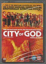 CITY OF GOD - sealed/new - UK R2 DVD - (Portuguese)