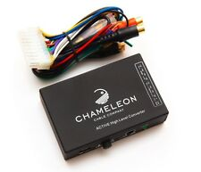 4 CHANNEL SPEAKER TO RCA CONVERTER WITH AUTO REMOTE LINE OUTPUT CONVERTER PHONO