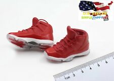 1/6 male Red sneakers AJ shoes HOLLOW basketball for hot toys phicen ❶USA❶