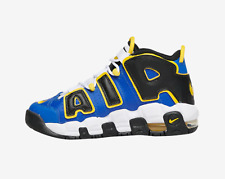 Nike Air More Uptempo GS Peace Love Basketball Game Royal Blue Yellow DC7300 400