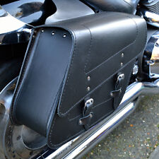 MOTORCYCLE LEATHER SADDLEBAGS PANNIERS HONDA VT600 SHADOW VT750 C2-C9 / SPIRIT