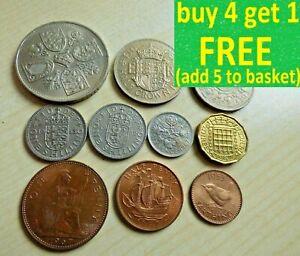 Elizabeth II Pre Decimal Coin Set Collect, Gift, Present 1953-1971