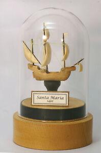 """Miniaturskulptur """"Santa Maria""""  Mammut Stoßzahn, ca. 50 x 45 x 20mm"""