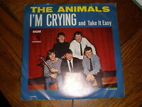The Animals 45/PICTURE SLEEVE I'm Crying