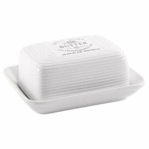 ORION Butterdose / Butter-Behälter aus Keramik SWEET HOME