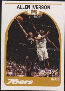 1999-00 NBA Hoops Decade Basketball battage #62 Allen Iverson