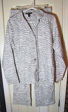 Ambrielle Zebra print Pajamas Adult Small Cotton
