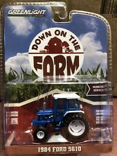 Greenlight DOWN on the FARM Series 2. 1984 Ford 5610 tractor w/ cab