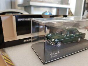 Rare VW 1600 Minichamps 1:43 1966
