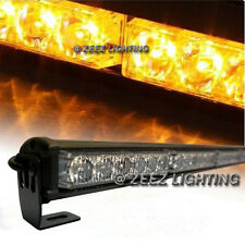 Yellow 36 LED Traffic Advisor Emergency Strobe Beacon Flash Warning Light Bar#11