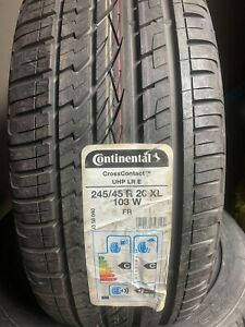 2454520 103W CONTINENTAL CROSS  UHP 245/45/20