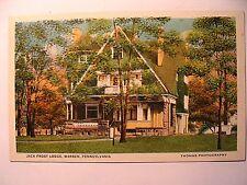 Jack Frost Lodge in Warren PA OLD