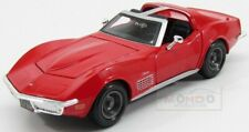 Chevrolet Corvette Stingray 1970 Red Maisto 1:24 MI31202R Model