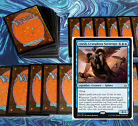 mtg BLUE SPHINX DECK Magic the Gathering rare 60 cards unesh glyph keeper