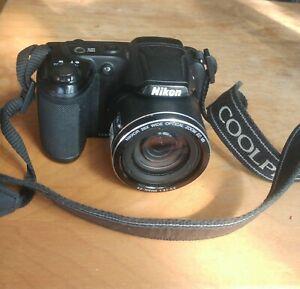 Nikon COOLPIX L320 16.1MP Digital Camera + Original Strap Working/good condition