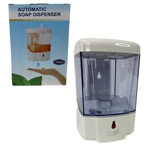 Commercial 700ML Automatic Liquid Soap Dispenser Wall Mount IR Motion Activated