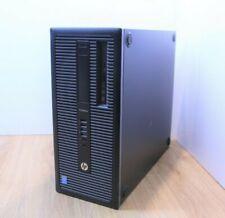 HP EliteDesk 600 G1 Torre de Windows 10 Intel Core i5 4th generación 3.3GHz 4GB 500GB Wifi