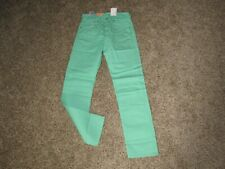 NEW LIGHT GREEN LEVI'S 501 SHRINK TO FIT BUTTON FLY STRAIGHT LEG JEANS 32x34 NWT