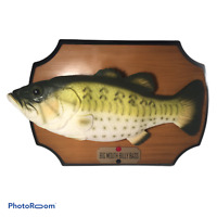 💛 VINTAGE GEMMY  Big Mouth Billy Bass The Singing Sensation Motion Activated G3