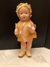 1940's Horseman Babydoll With 3 Sets Handmade Clothing - 12 Inch Doll