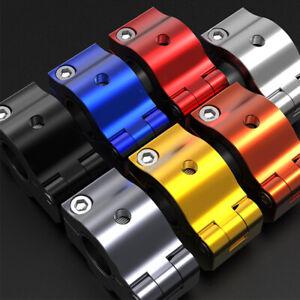 7/8'' 22mm 28mm Aluminum Universal HandleBar Fat Bar Risers Mount Clamp Adapter