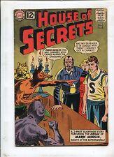 HOUSE OF SECRETS #58 - TRIAL BY FIRE ft THE ORIGIN OF MARK MERLIN! (5.5) 1963