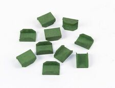 Film clips for 9,5 mm films (green) (10 pieces) (PP-0112)