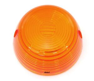 Honda Amber Turn Signal Lens - 33402-268-672 - CB100 CB125 CB200 CB350 CB400