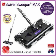 GENUINE✓ Swivel Sweeper MAX Cleaner DANOZ✓ 12 MTH WARRANTY