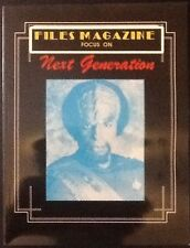 FILES Magazine Focus On NEXT GENERATION Star Trek 1988