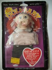 Vintage 1985 Tiny Doll Baby  kit soft sculpture doll head