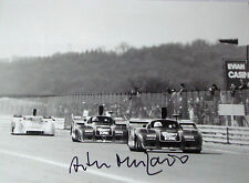 Arturo Merzario firmato 12x8 dppi Press Photo, ALFA ROMEO T33CS, Digione 500km 1977